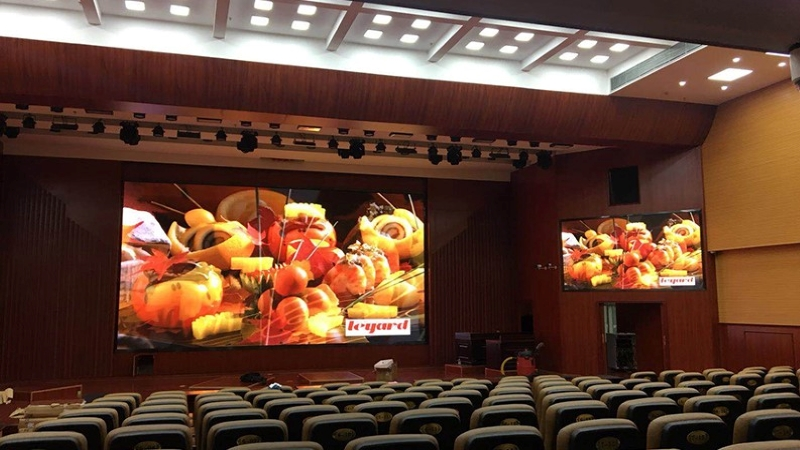 Development and Use of Stage LED Screen