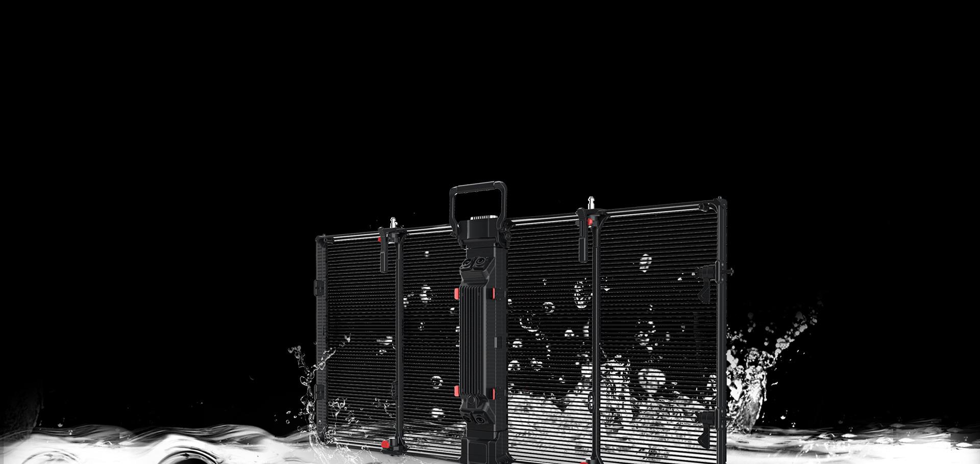 Spray Type Waterproof Structure