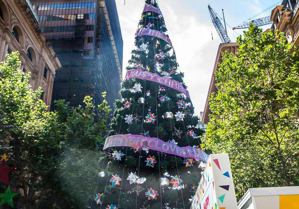 2013 Australia Martin Place Xmas Tree