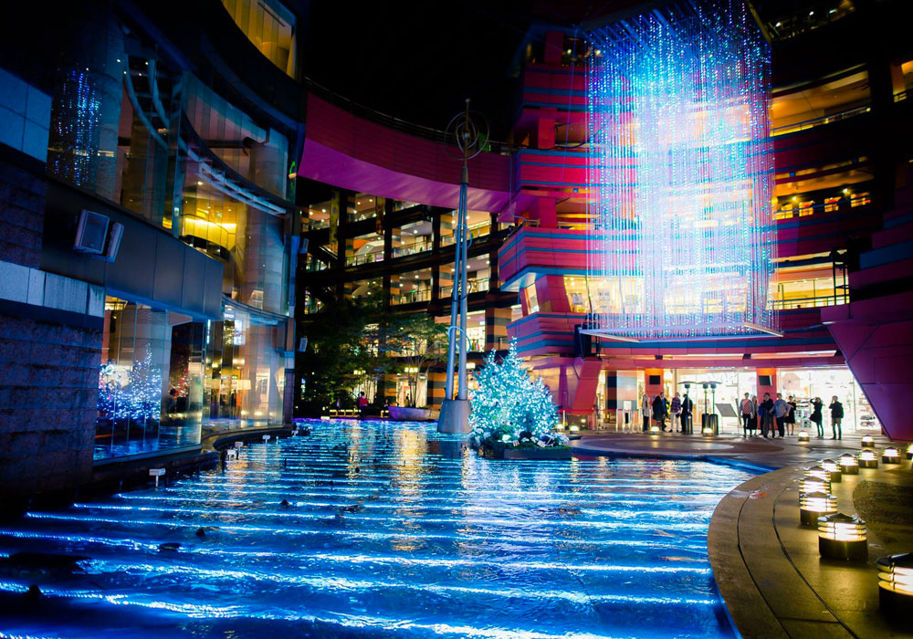 2014 Japan Crystal 3D Christmas Tree