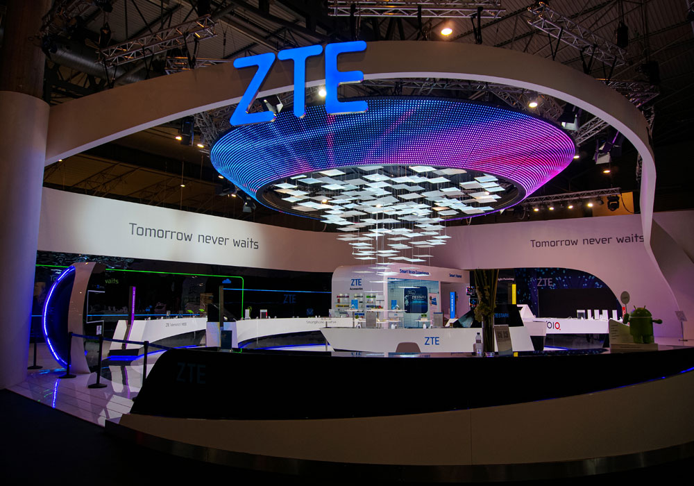 2015 Barcelona Spain ZTE Exhibition