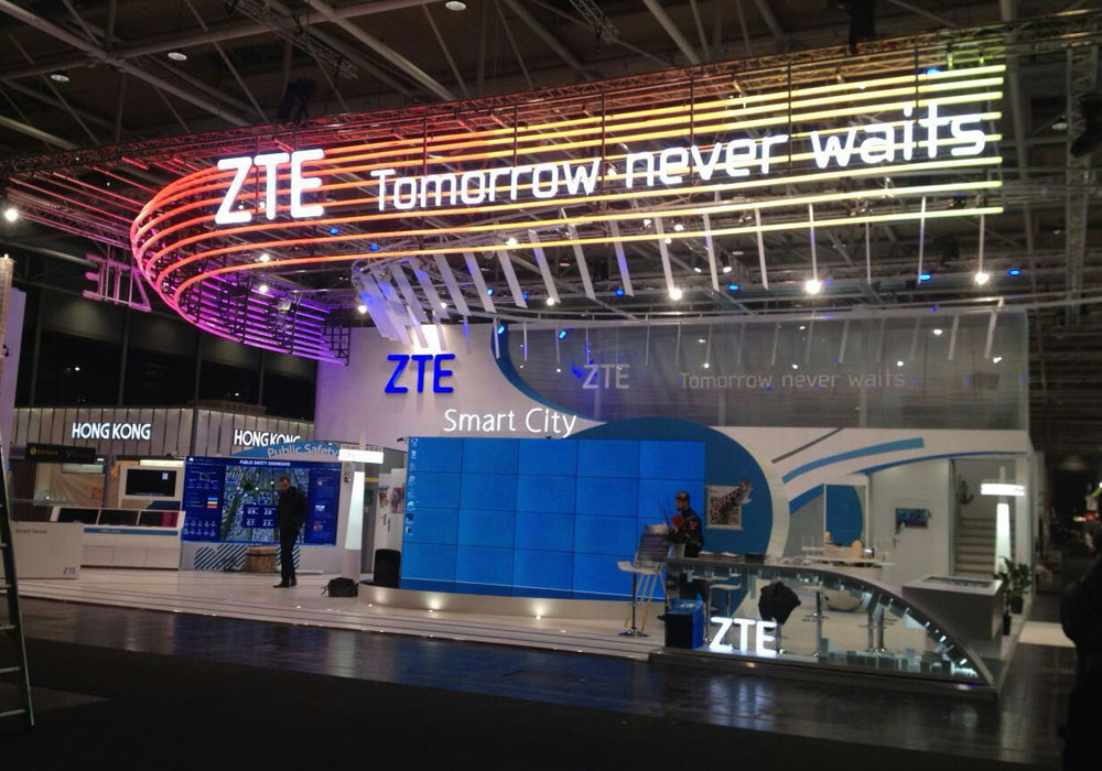 2015 ZTE Cologne Exhibition Project