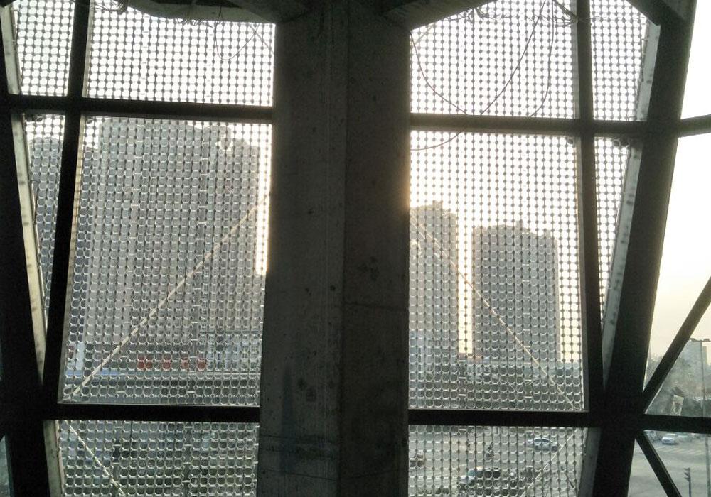 2016 Chongqing Triangle Screen Wandprojekt