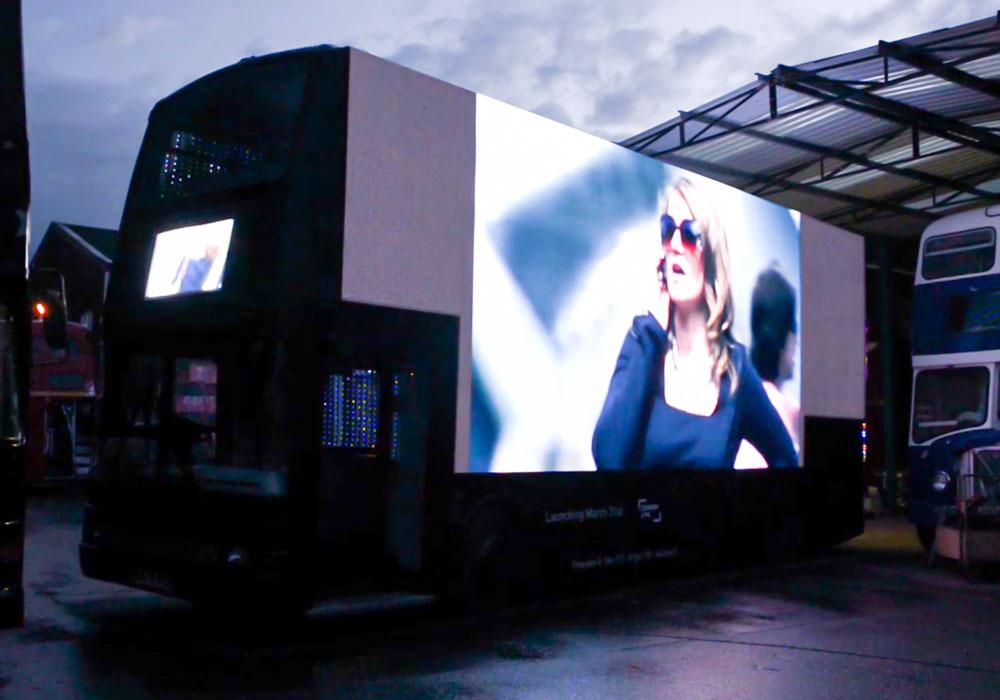 2017 London Car Screen Project