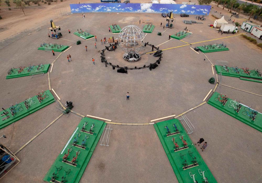 2017 Morocco Dome Display
