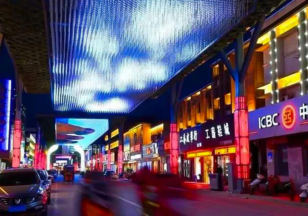 2018 Jiangsu China Walking Street