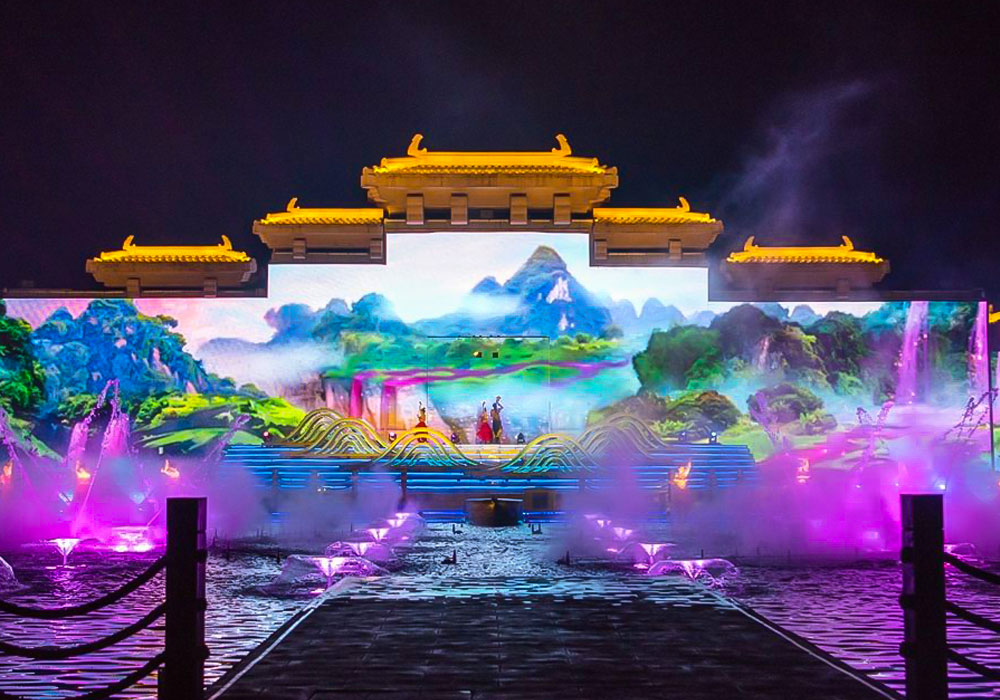 2018 Shandong Immortals • Penglai Water-stage Light Show