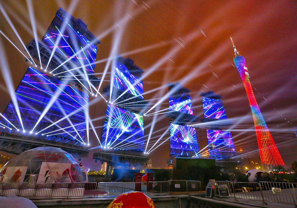 Sail Screen Project Of Guangzhou Haixinsha Asian Games Park In 2019