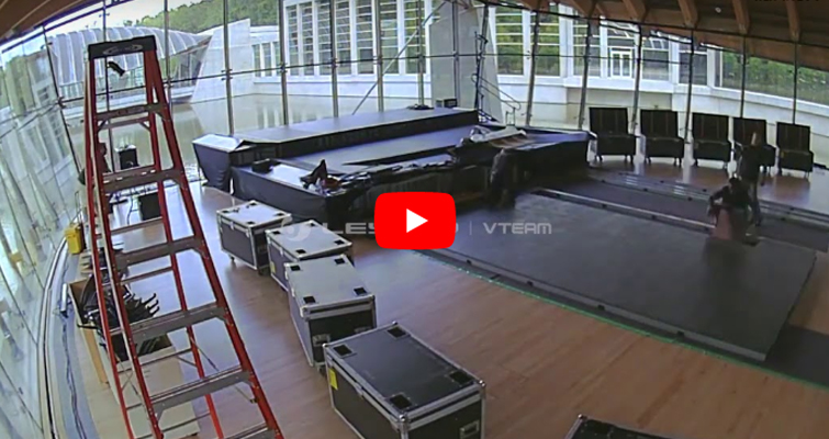 LED Floor Tile Screen Installation Video Imagic-leyard Vteam_batch