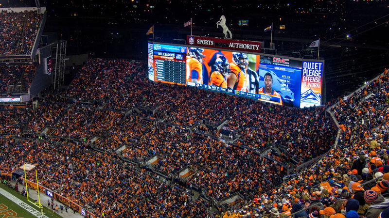 Smart LED Screens Brighten the Stadiums