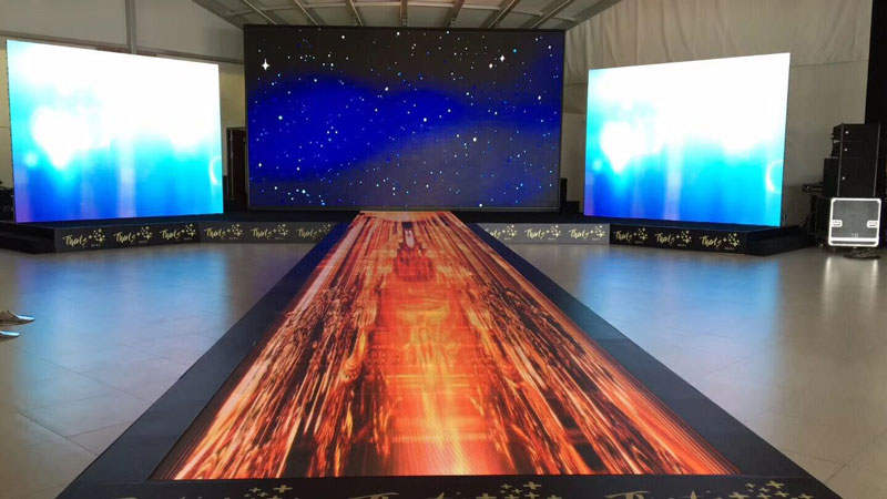 What are the Common Forms of Floor LED Screens