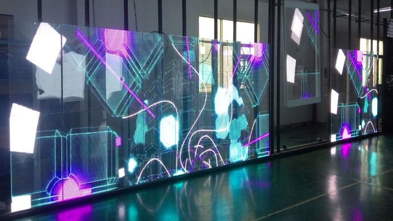 Transparent LED Screen Makes No Shelter More Creative