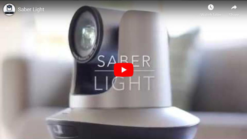 Saber Light (USB 3.0 PTZ camera) Video