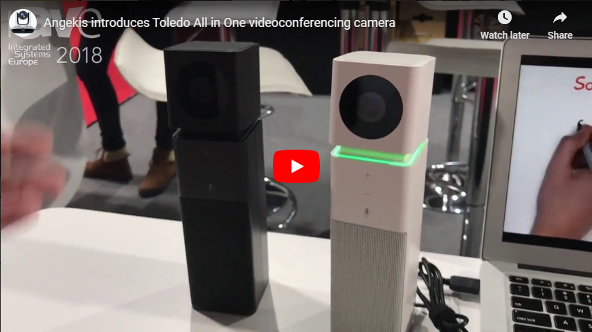 Angekis Introduces Toledo All In One Videoconferencing Camera