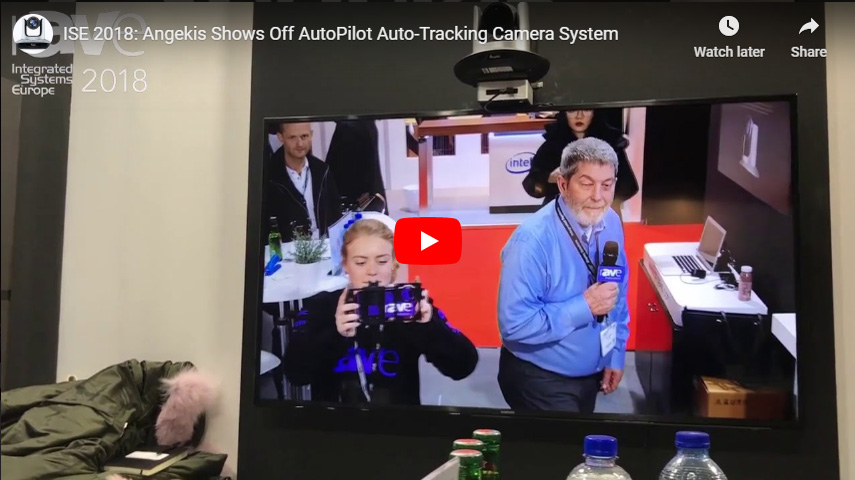 ISE 2018: Angekis Shows Off AutoPilot Auto-Tracking Camera System