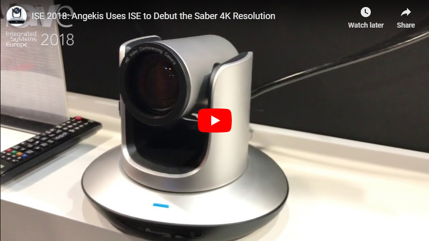 Angekis Uses ISE to Debut the Saber 4K Resolution