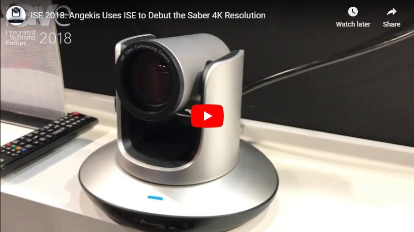 Angekis benutzt ISE, um die Saber 4K-Resolution auszulöschen