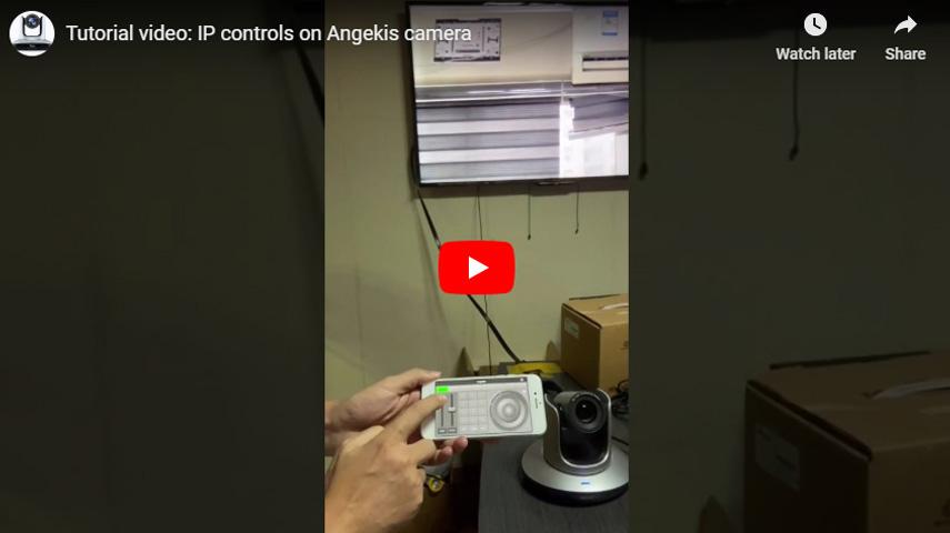 IP - контроль камеры Angekis