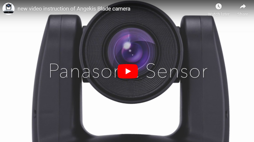 New Video Instruction Of Angekis Blade Camera