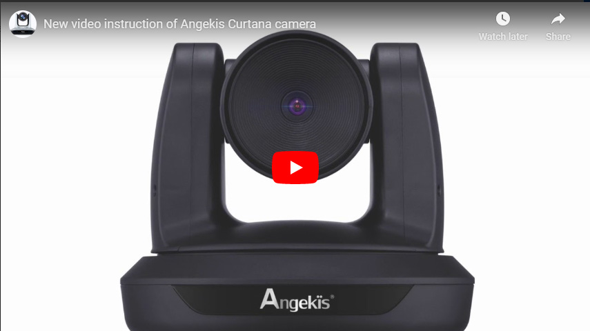 New Video Instruction Of Angekis Curtana Camera