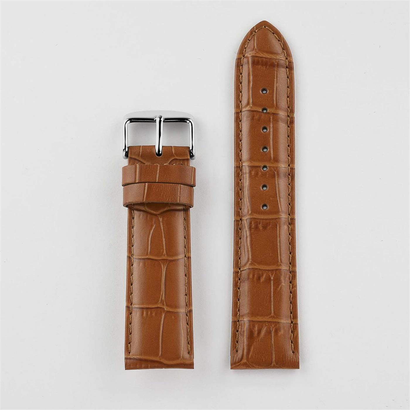 Crocodile Pattern Watch Strap