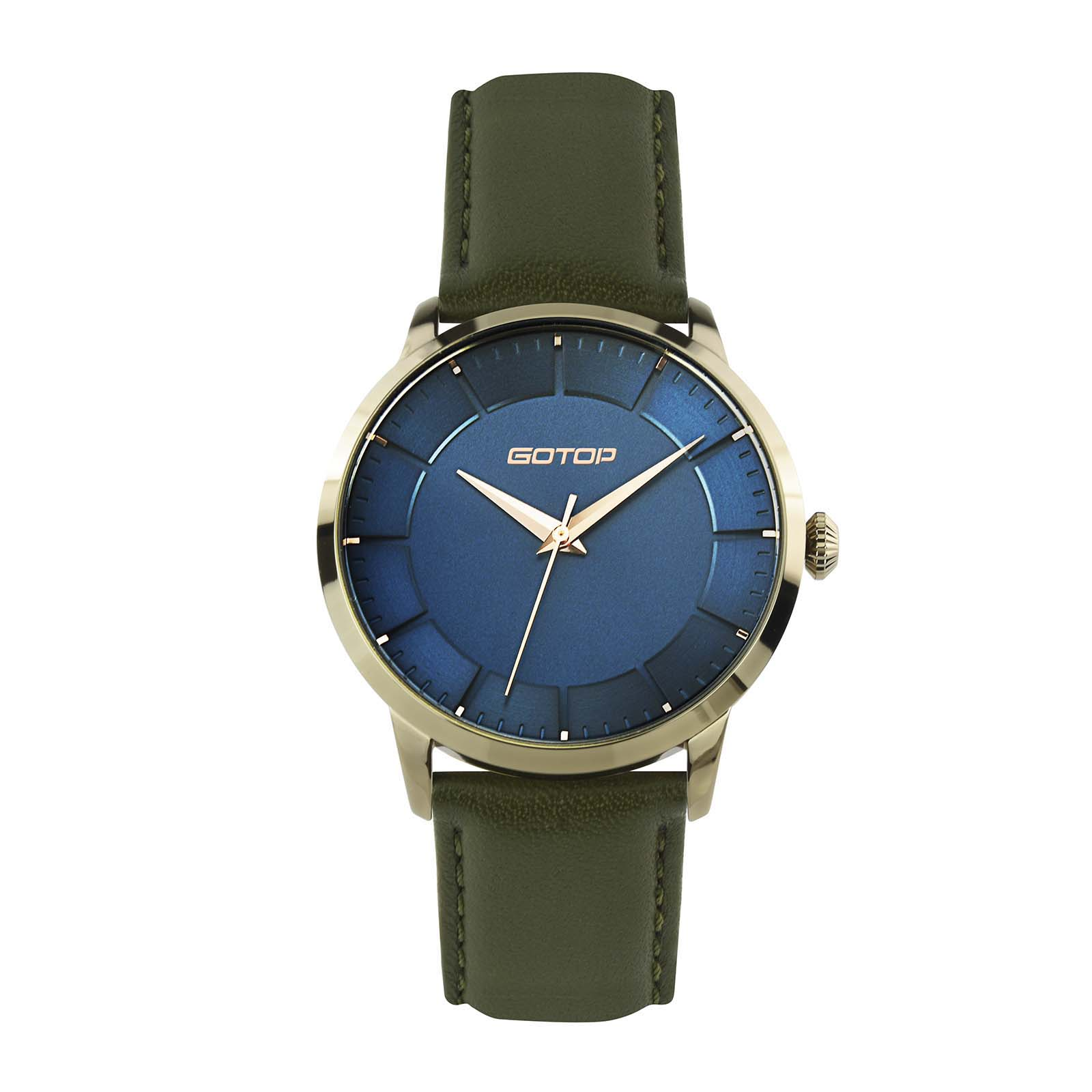 Women's Double Layer Dial Watch For Business Occasion