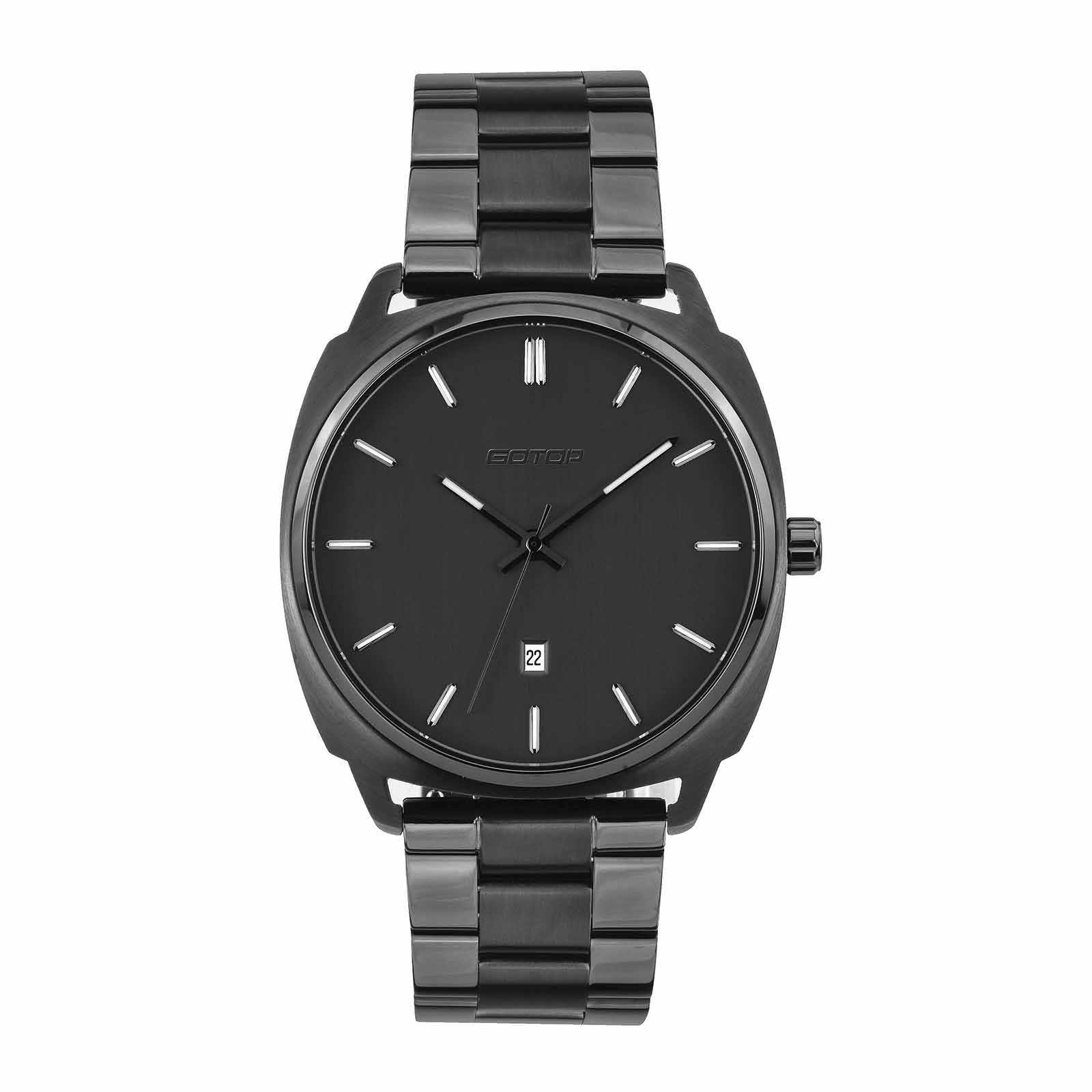 Solid Stainless Steel Watch For Men