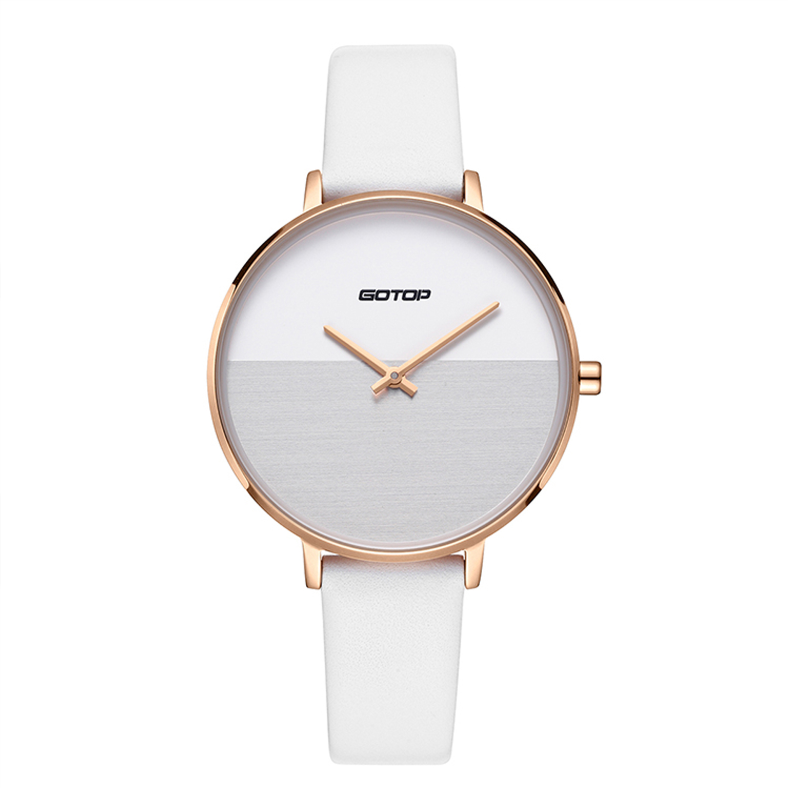 White And Rose Gold Women's Watch
