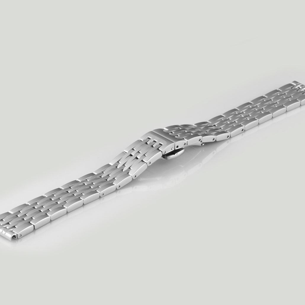 Silver Stainles Steel Women's Watch Bracelet
