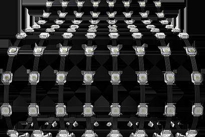 Conformal LED Screen