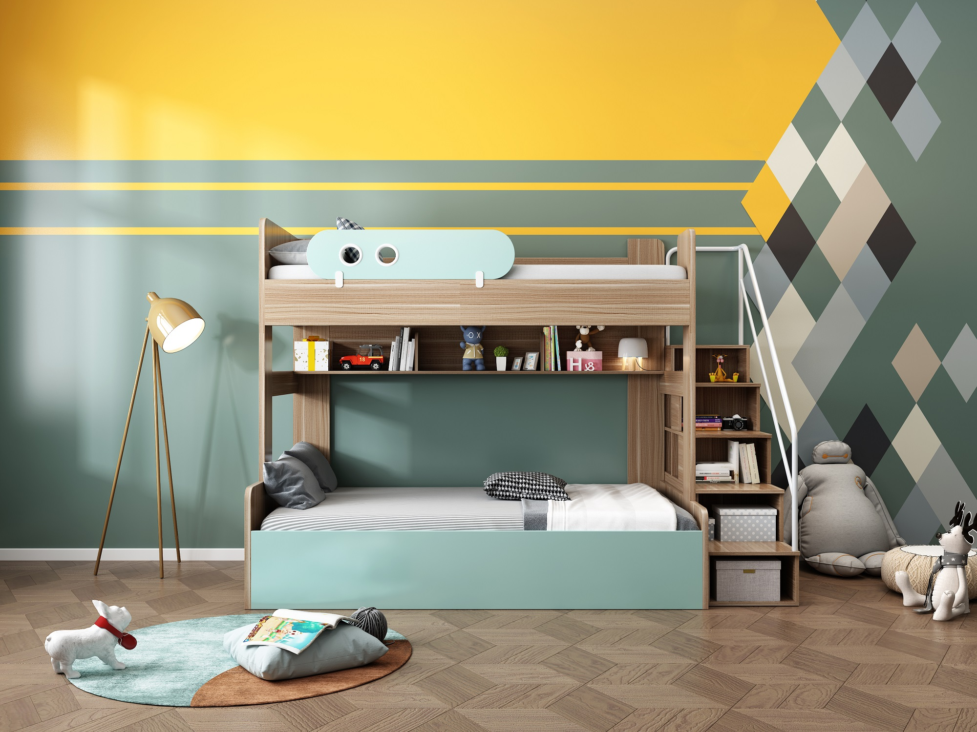 How to Decorate Children's Bedrooms and Three Precautions for Children's Bedroom Decoration