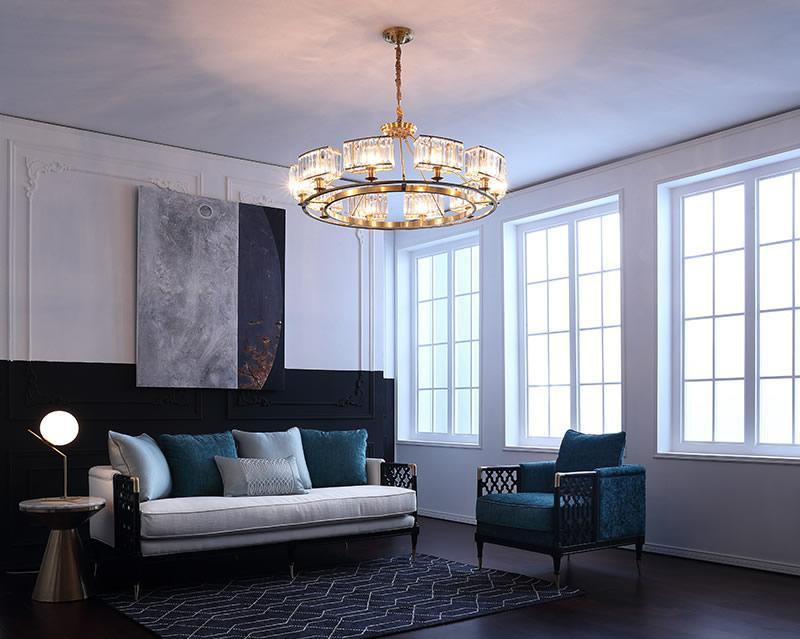 Do You Know the Styles of Chandeliers in the Living Room?