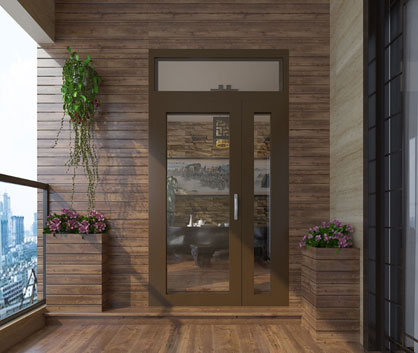 EMPEROR Vertical Hinged Door