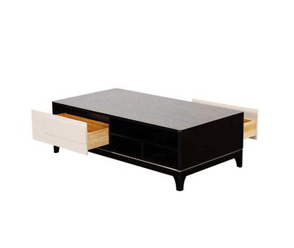 MODERN STYLE GLASS TEA TABLE (CJ-1863)