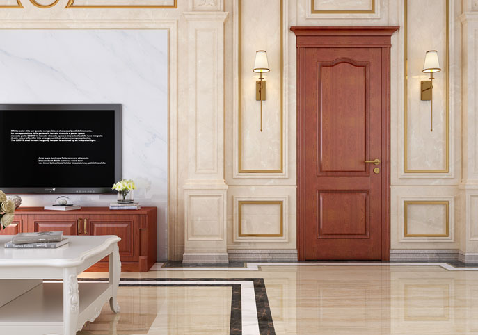 EDINBURGH-RED CHERRY & WHITE Interior doors
