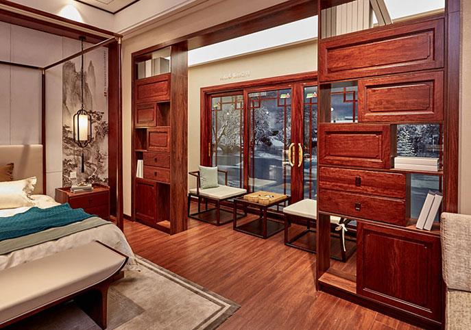 Home Design Waterproof Flooring (WDA-1804A)