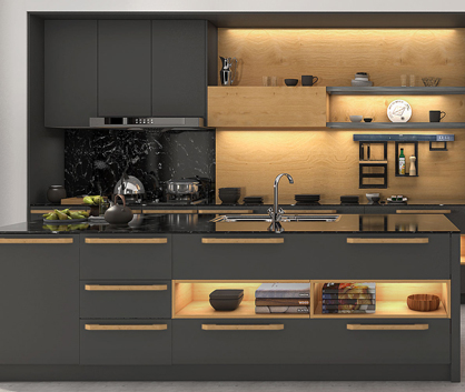 WONDERFUL AGE Kitchen Cabinets