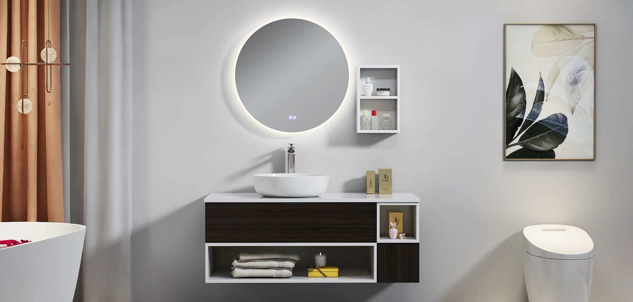 Wall bathroom vanity-VC0001 series