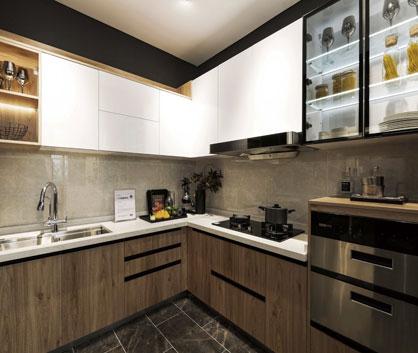The Minimalist Series Kitchen Cabinets