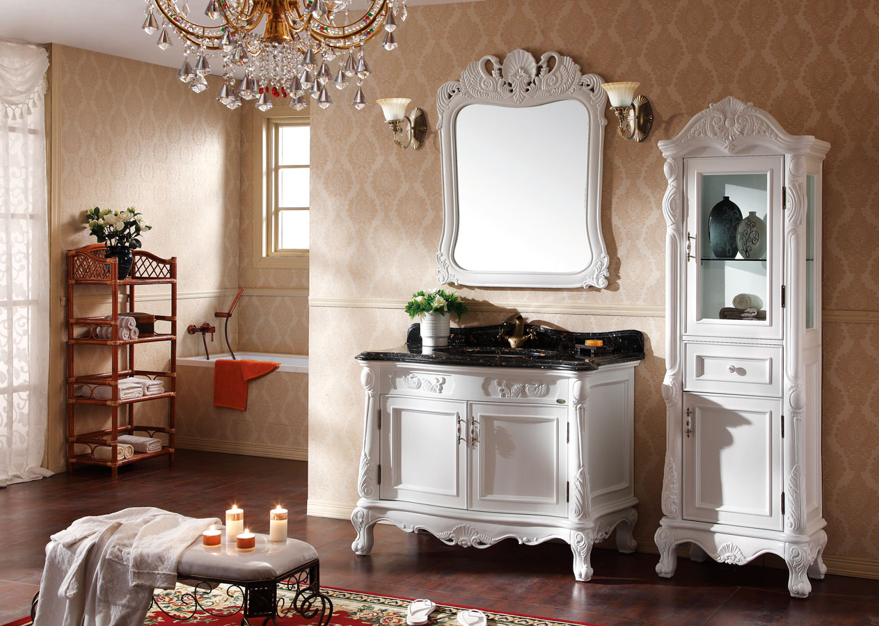 How to Select and Maintain the Bathroom Vanities