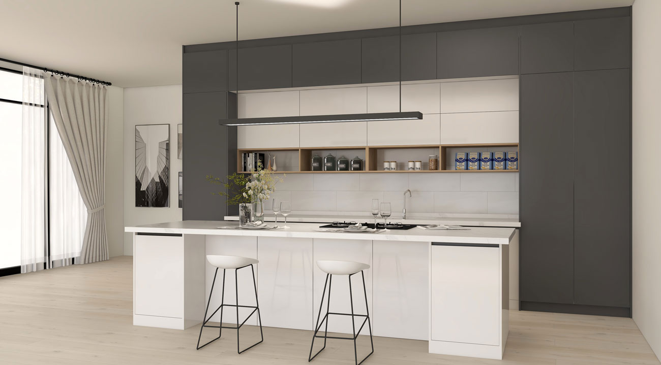 Aurora Kitchen Cabinet