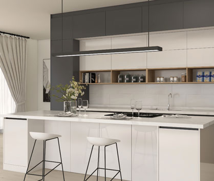 Aurora Kitchen Cabinet