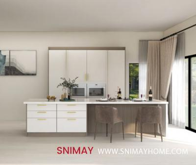 Pearl White Kitchen cabinet