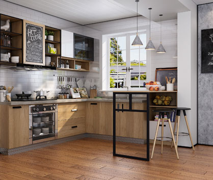 Vansza Kitchen Cabinet