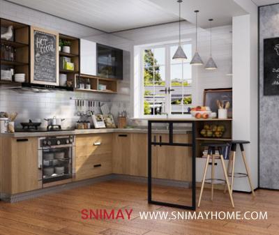 Vansza Kitchen Cabinet