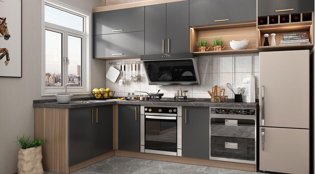 Wellcho Kitchen Cabinet