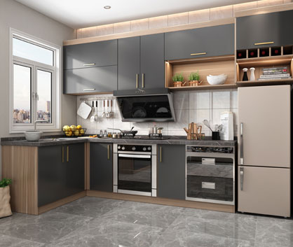 Wellcho Kitchen Cabinet
