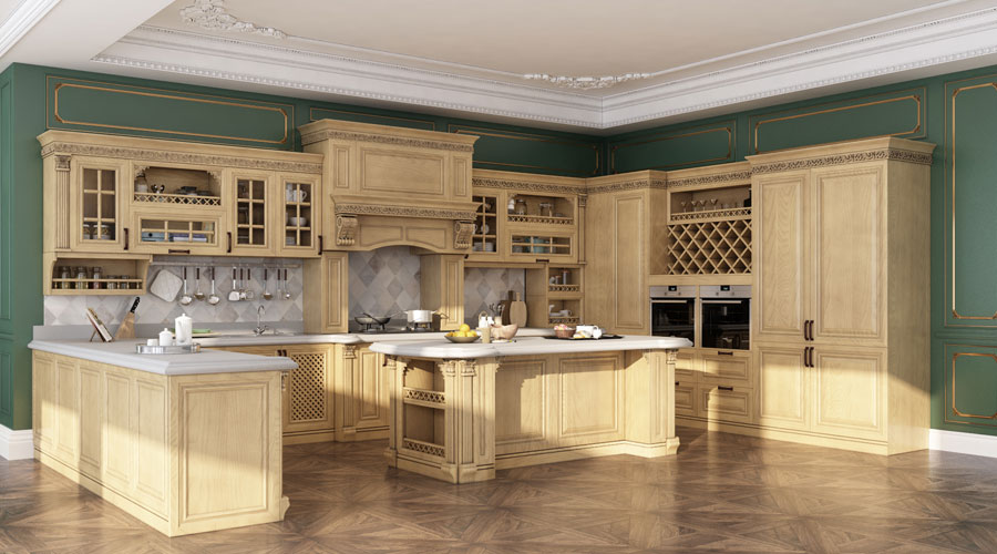 SN20-KCS008 Kitchen Cabinet