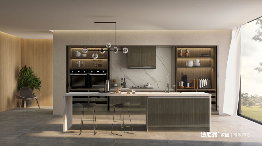 SN21-KC002 Kitchen Cabinet