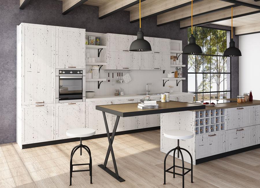 SN21-KC007 Kitchen Cabinet